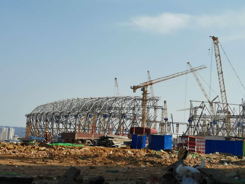 万博manbetx官网网页版龙泉东安湖体育公园项目基建