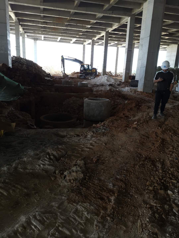 万博manbetx官网网页版东安湖体育公园基建排水管道